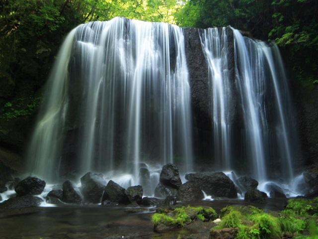 不動の滝、三階の滝