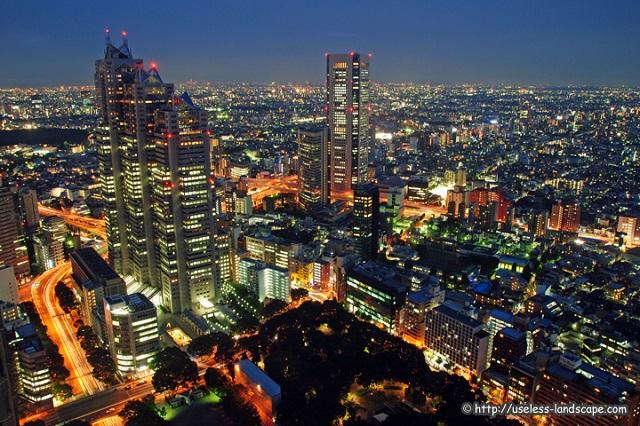 東京都庁展望室