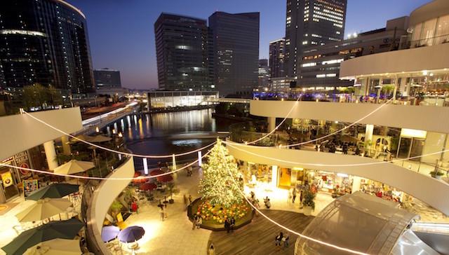 横浜ベイクォータークリスマスイルミネーション