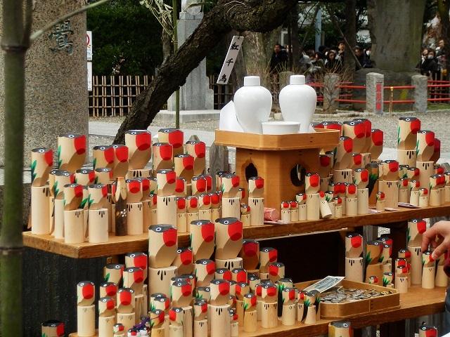 亀戸天神社の「うそ替え神事」