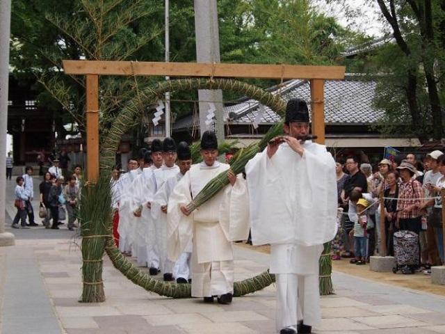 石切神社の夏越大祓式