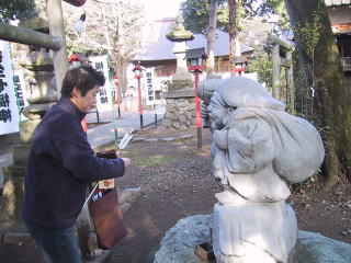 熊川神社と大黒天