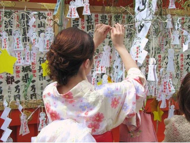 地主神社 七夕祭