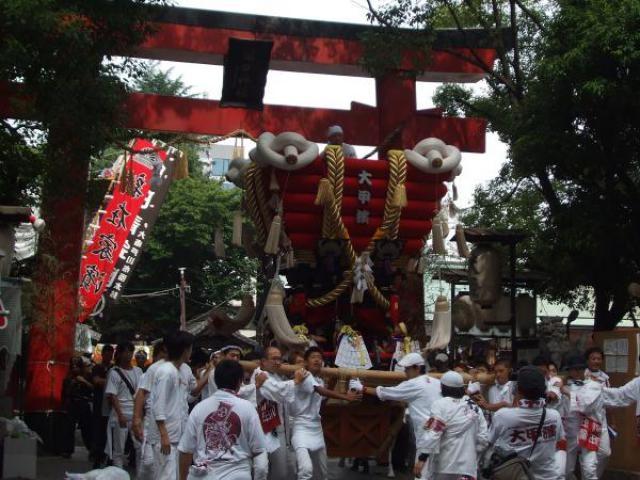 大阪の八朔祭り