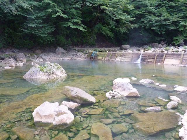 尻焼温泉河原野天風呂