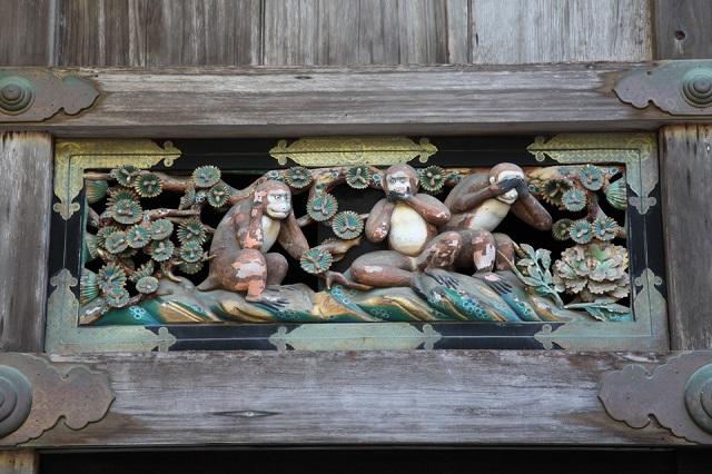 神厩舎の三猿