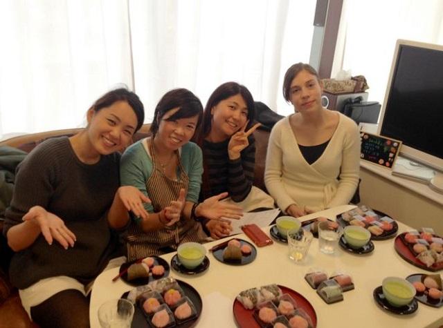 尾崎幸子和菓子教室