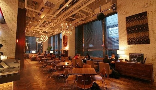 Marunouchi Cafe × WIRED CAFE
