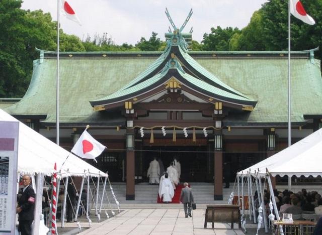 大阪護國神社の春季例大祭