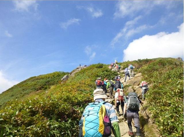 谷川岳ハイキング