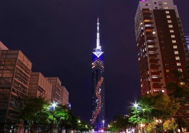 福岡タワーの七夕まつり