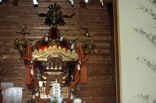 惣町睦神輿(5年に1度出御)